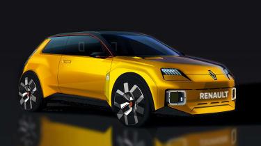 Renault 5 EV concept - front sketch