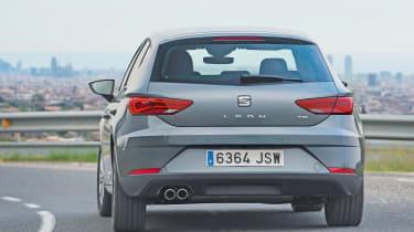 SEAT Leon - rear cornering