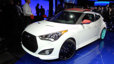 Hyundai Veloster C3 Concept front