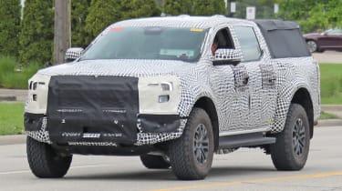 Ford Ranger - spyshot 1