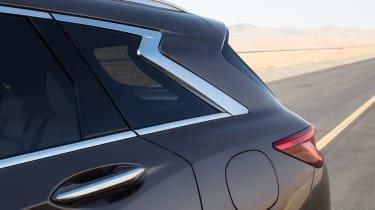 New Infiniti QX50 SUV - window