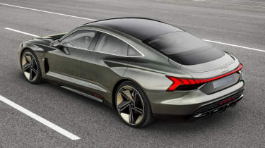 Audi e-tron GT concept - rear static