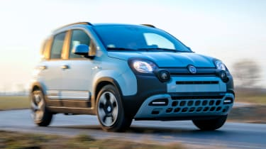 Fiat Panda Mild Hybrid - front action