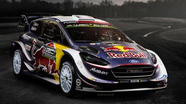 Ford Fiesta M-Sport WRC - front