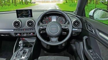 Audi A3 Cabriolet - interior