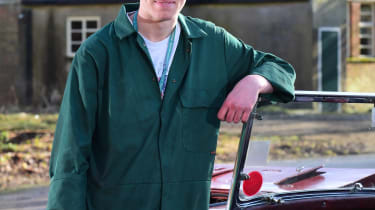 Student Car Mechanic Oliver Lees