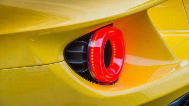 Ford GT Norway road trip - rear lights