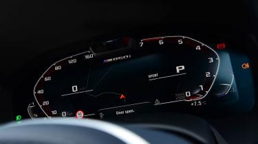 BMW M850i xDrive Gran Coupe - dials