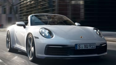 Porsche 911 Carrera 4 Cabriolet - front tracking