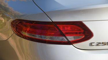 Mercedes C-Class Coupe - rear light detail
