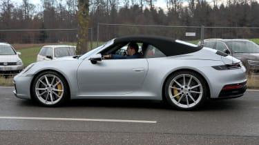 New Porsche 911 Cabriolet - spyshot 5