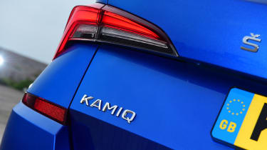 Skoda Kamiq - rear light