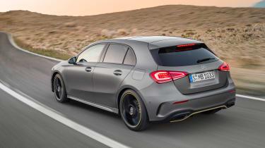 New Mercedes A-Class - rear