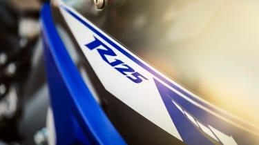 Yamaha YZF-R125 badge