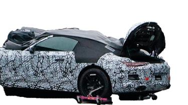 Mercedes SL 2021 - cut