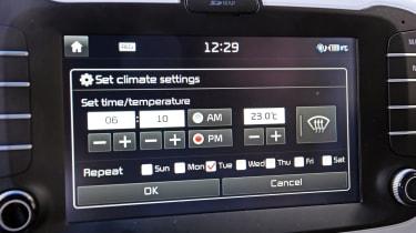 Kia Soul EV - interior detail