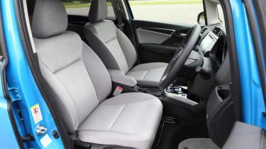 New Honda Jazz Hybrid front seats