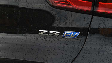 MG ZS EV - rear badge