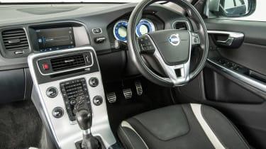 Used Volvo V60 - interior