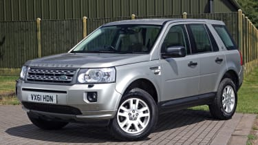 Used Land Rover Freelander 2 - front