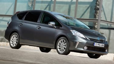 Toyota Prius+ side view