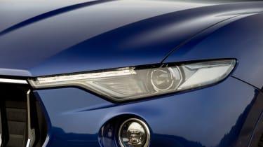 Maserati Levante - front light detail