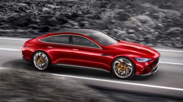 Mercedes-AMG GT Concept - side