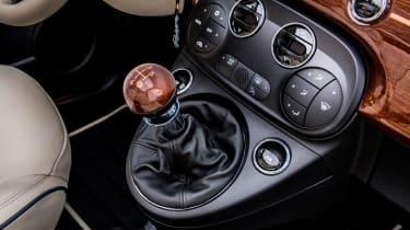 Fiat 500 Riva - gearlever