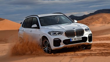 BMW X5 - off-road
