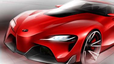 Toyota FT-1 sketch 1