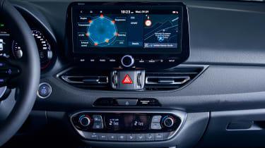 New Hyundai i30 N 2021 - screen