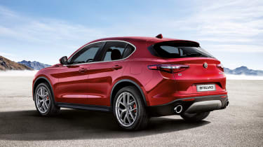 Alfa Romeo Stelvio First Edition rear quarter