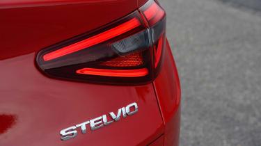 Alfa Romeo Stelvio - rear light detail