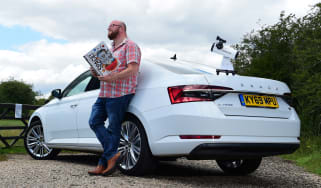 Skoda Superb iV long termer - second report header