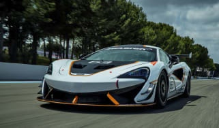 McLaren 570S Sprint - front tracking