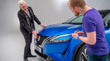 Nissan Qashqai - detail with Alex Ingram