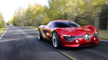 Renault DeZir front track