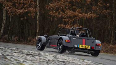 Caterham 620S - rear cornering 2