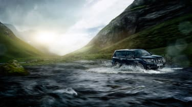 2018 Toyota Land Cruiser - water
