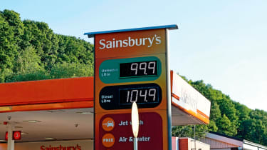Road driving tips Fuel prices