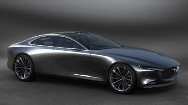 Mazda Vision Coupe concept - front