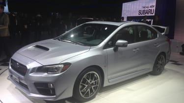 Subaru WRX STI front staic