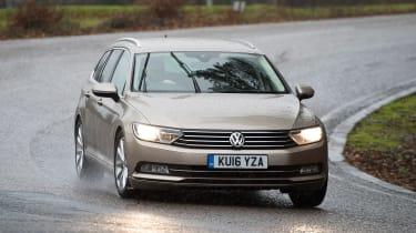 Volkswagen Passat Estate long-term final report - front cornering
