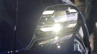 Porsche Taycan - reveal front light