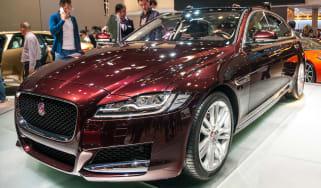 Jaguar XF long wheelbase - Beijing Show - front