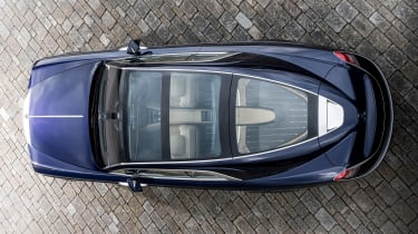 Rolls-Royce Sweptail - above