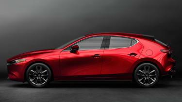 Mazda 3 - side studio