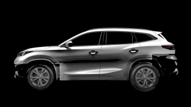 Chery SUV teaser - lightened