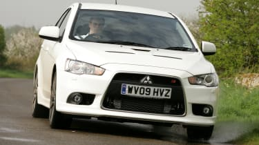 Best cheap hot hatches and performance cars - Mitsubishi Lancer Ralliart