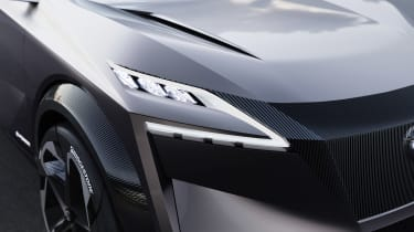 Nissan IMQ concept - front light